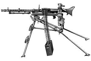 MG-34 на треноге